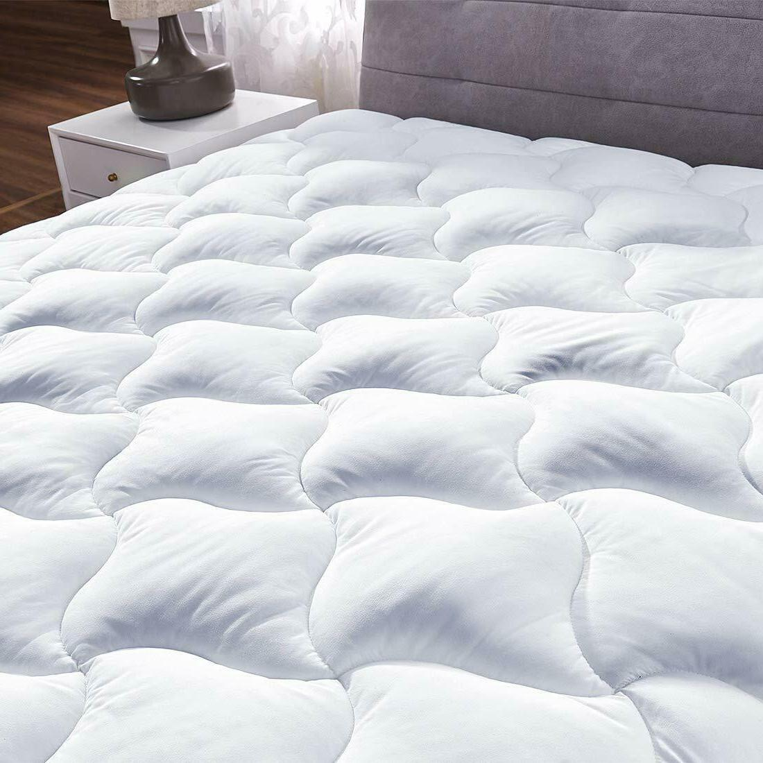 Full Size Pad Cover Bed Hypoallergenic
