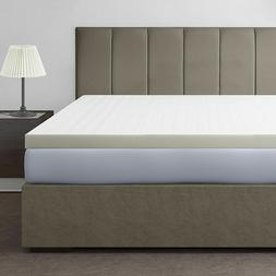 Memory Foam Mattress Topper Cooling Bed Pad Cover Pillow Top