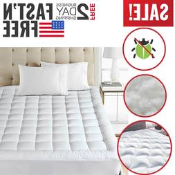 full size mattress pad cover pillow top
